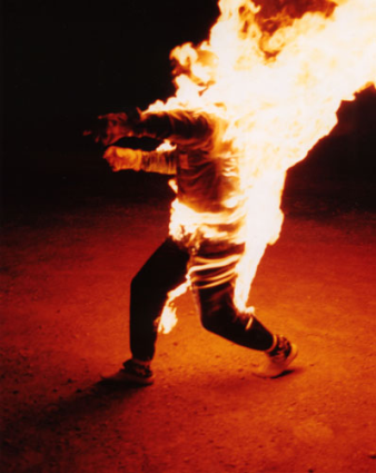 Fire Photos: Ted Batchelor - Guinness World Record Holder